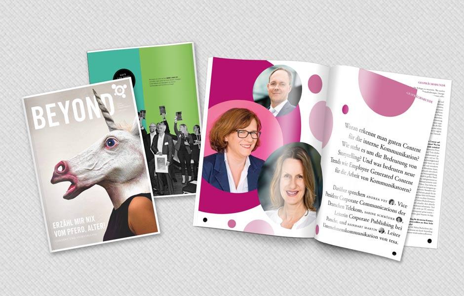 BEYOND #10 zum Thema Content und Storytelling in der internen Kommunikation erschienen