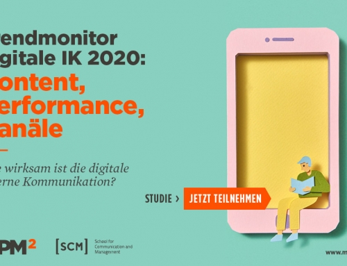 Studienaufruf: Trendmonitor digitale IK 2020 – Content, Performance, Kanäle