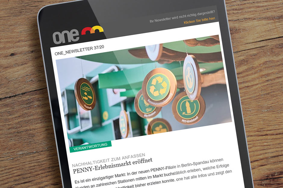 one – Magazin der REWE Group
