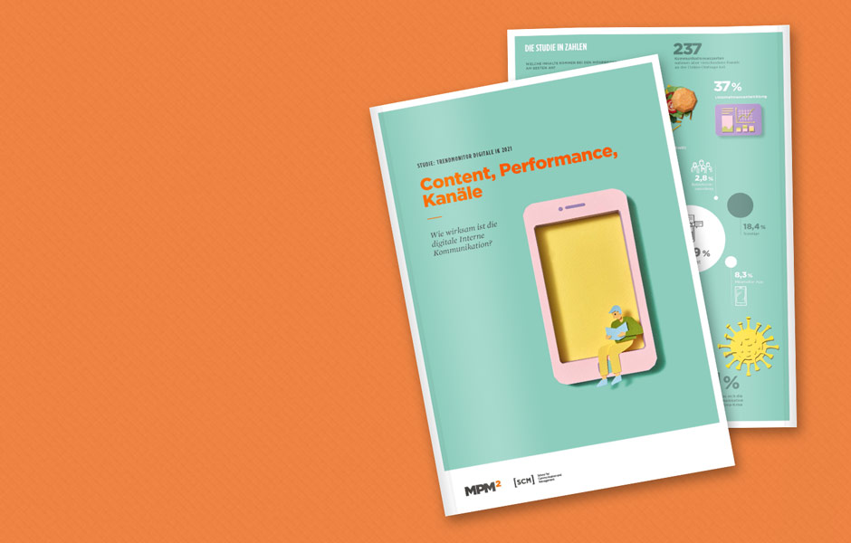 Trendmonitor digitale Interne Kommunikation 2021 – Content, Performance, Kanäle