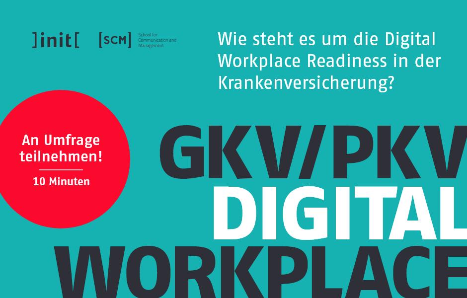 Digital Workplace Readiness in Krankenversicherungen (GKV/PKV)