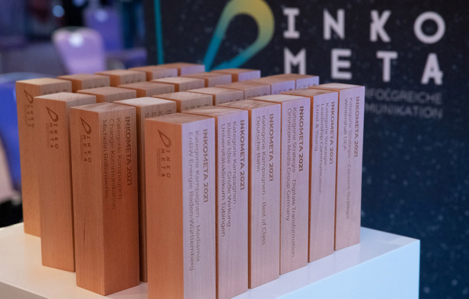 INKOMETA-Award der SCM: Preisträger*innen ausgezeichnet