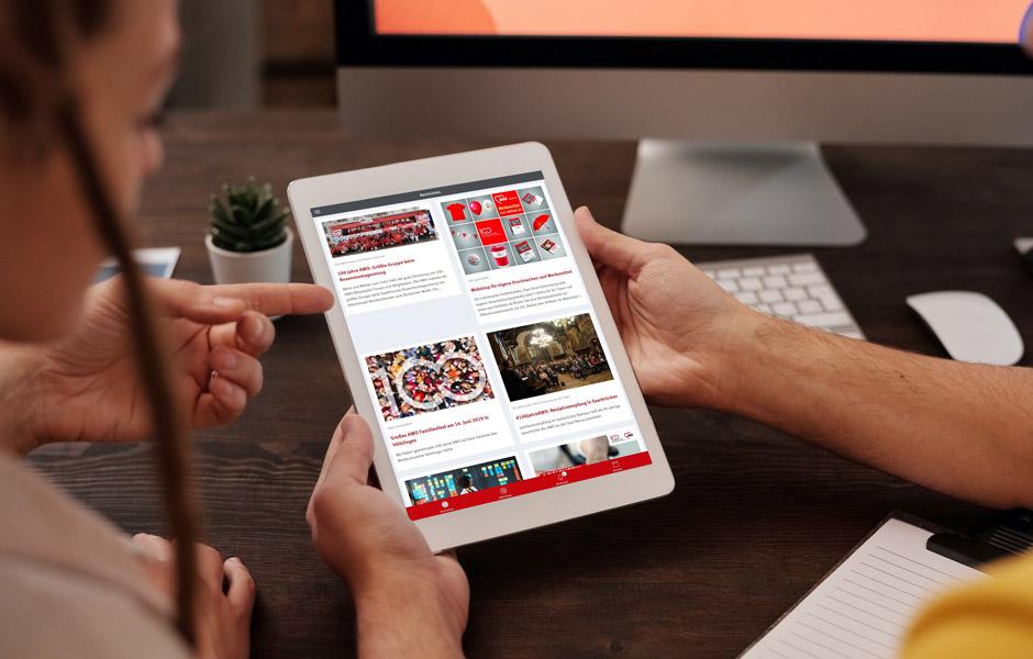 Weniger ICH – mehr WIR: Das mobile Intranet der AWO Saarland